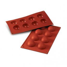 stampi in silicone semisfere